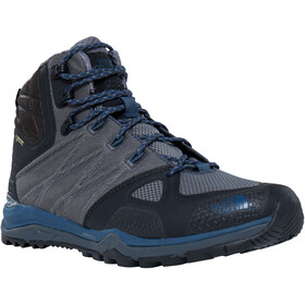 The North Face Ultra Fastpack II Mid GTX Chaussures Homme, zinc grey/shady blue